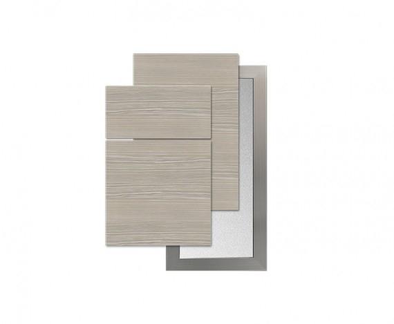 GENEVA Textured Melamine Slab Silver Pine Horizontal Wood Grain Use Copenhagen Glass Door  sc 1 st  EUROSTYLE & Geneva | EUROSTYLE