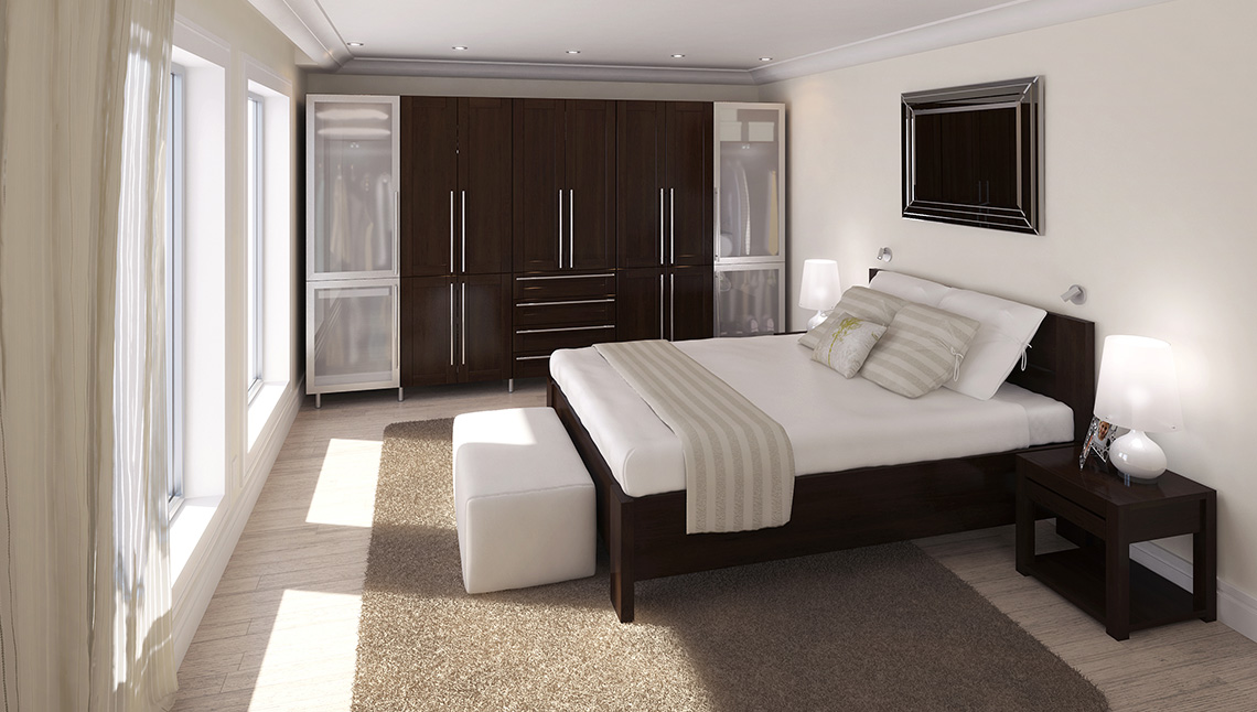 Exciting new storage eurostyle for Chambre walk in